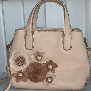 Pale pink LC Lauren Conrad small satchel purse